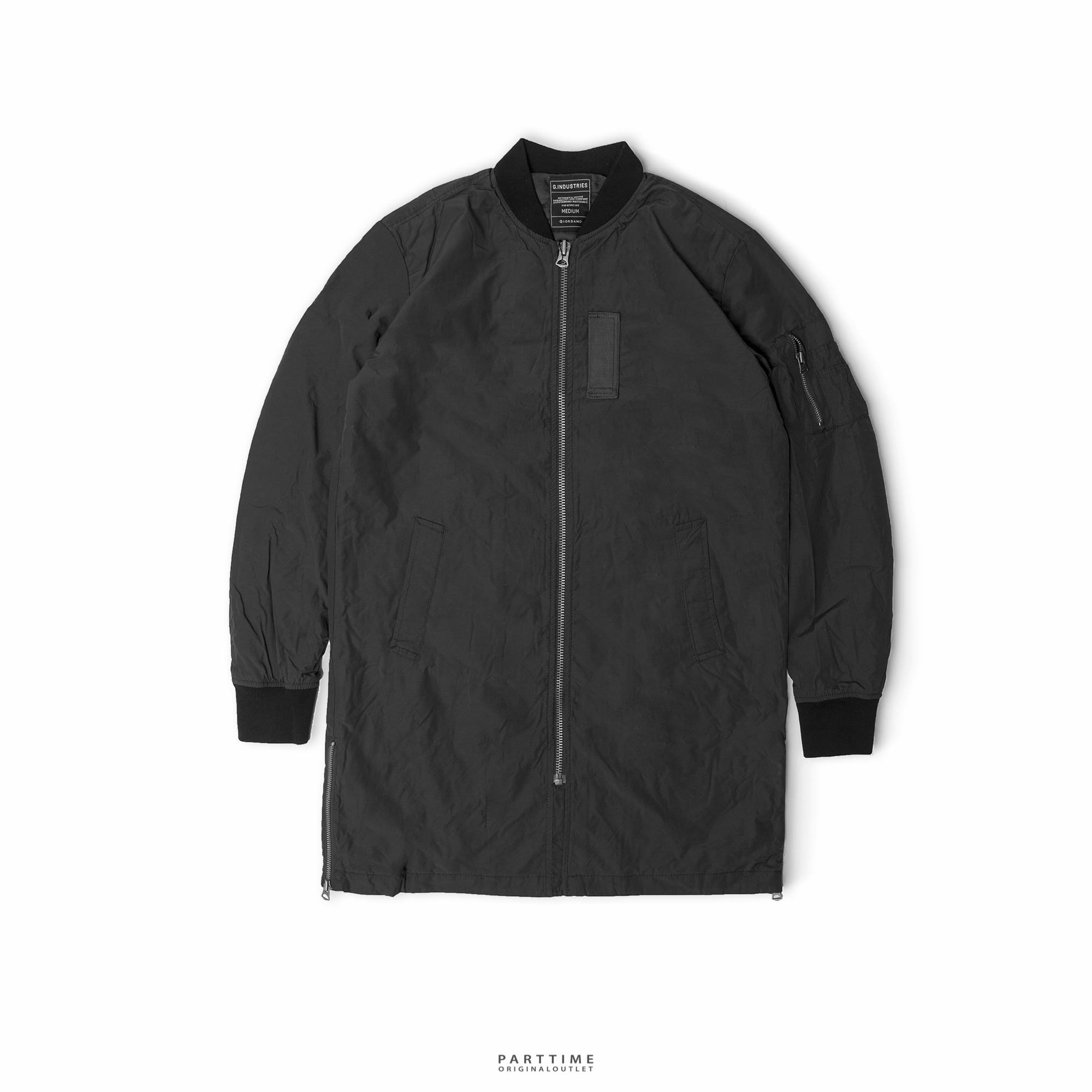 Long Bomber GIORDANO - Black