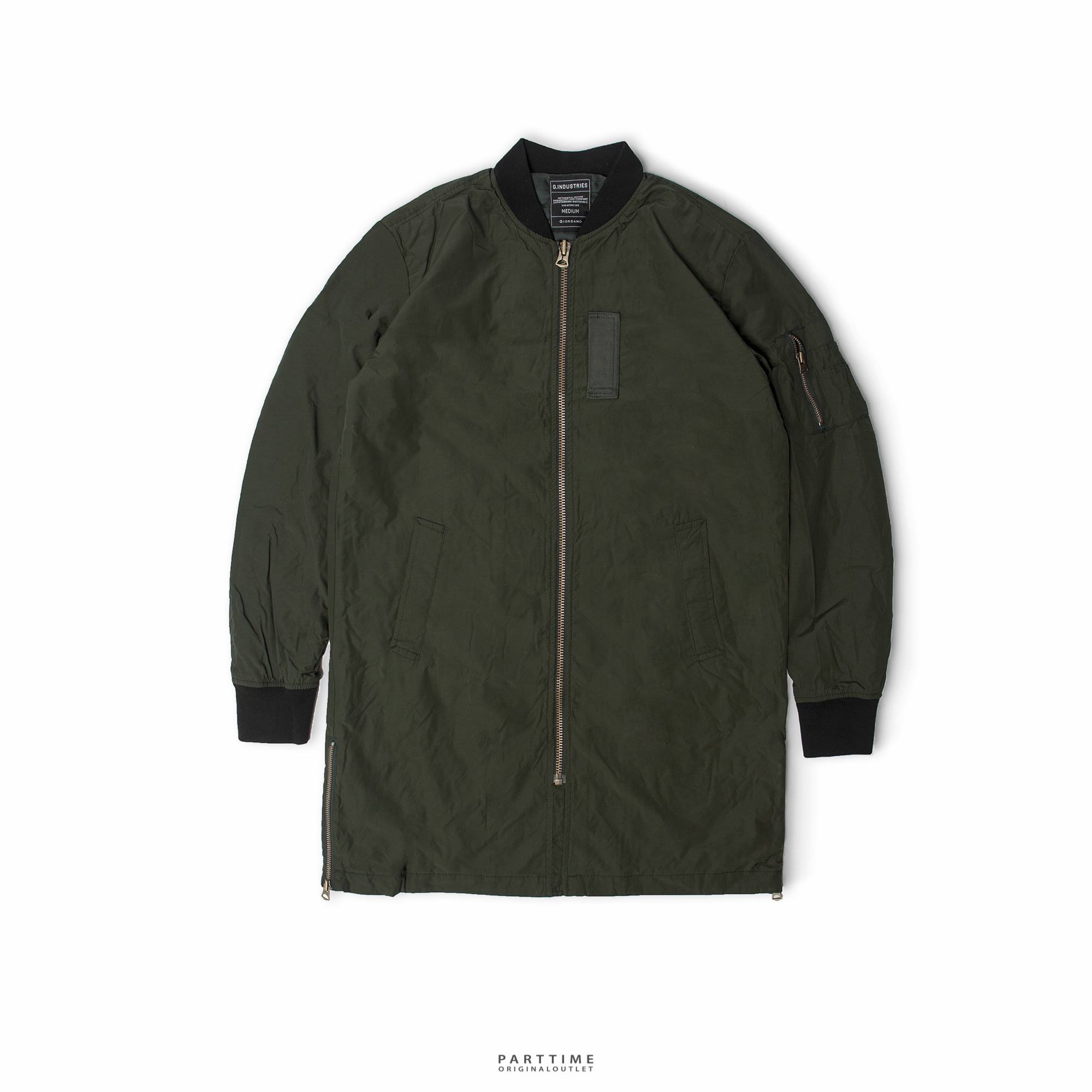 Long Bomber GIORDANO - Green