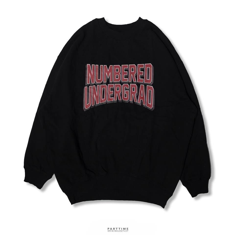 NUMBERED - Black