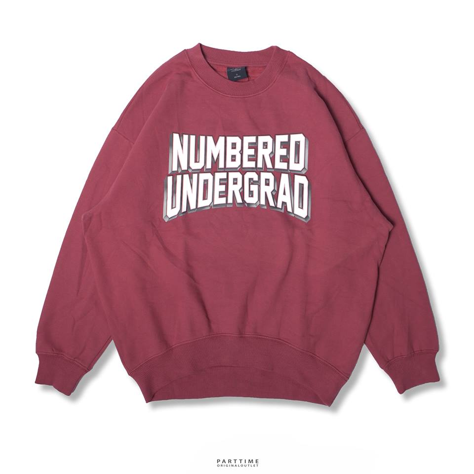 NUMBERED - Pink