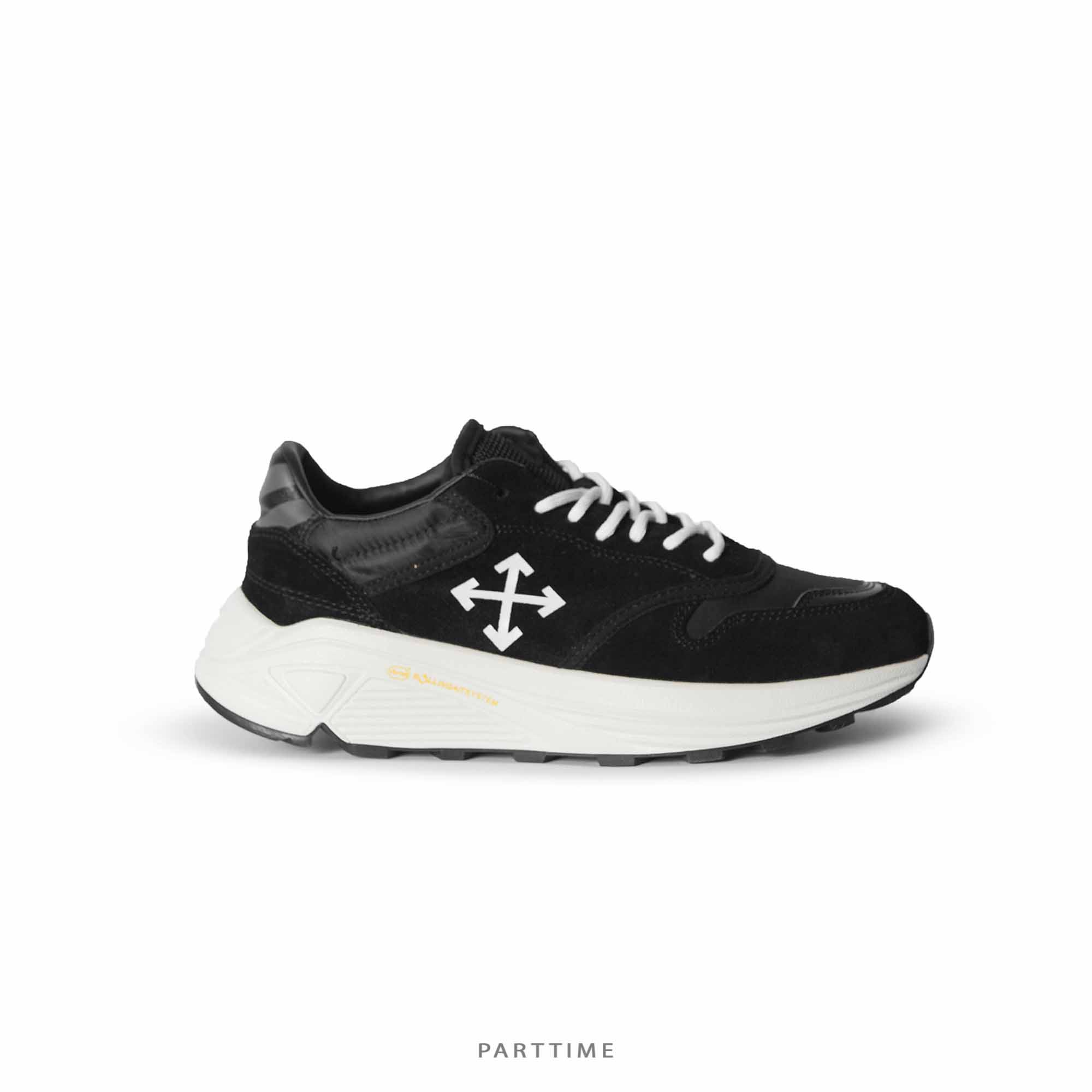 OW Jogger Shoes Black/White - 42