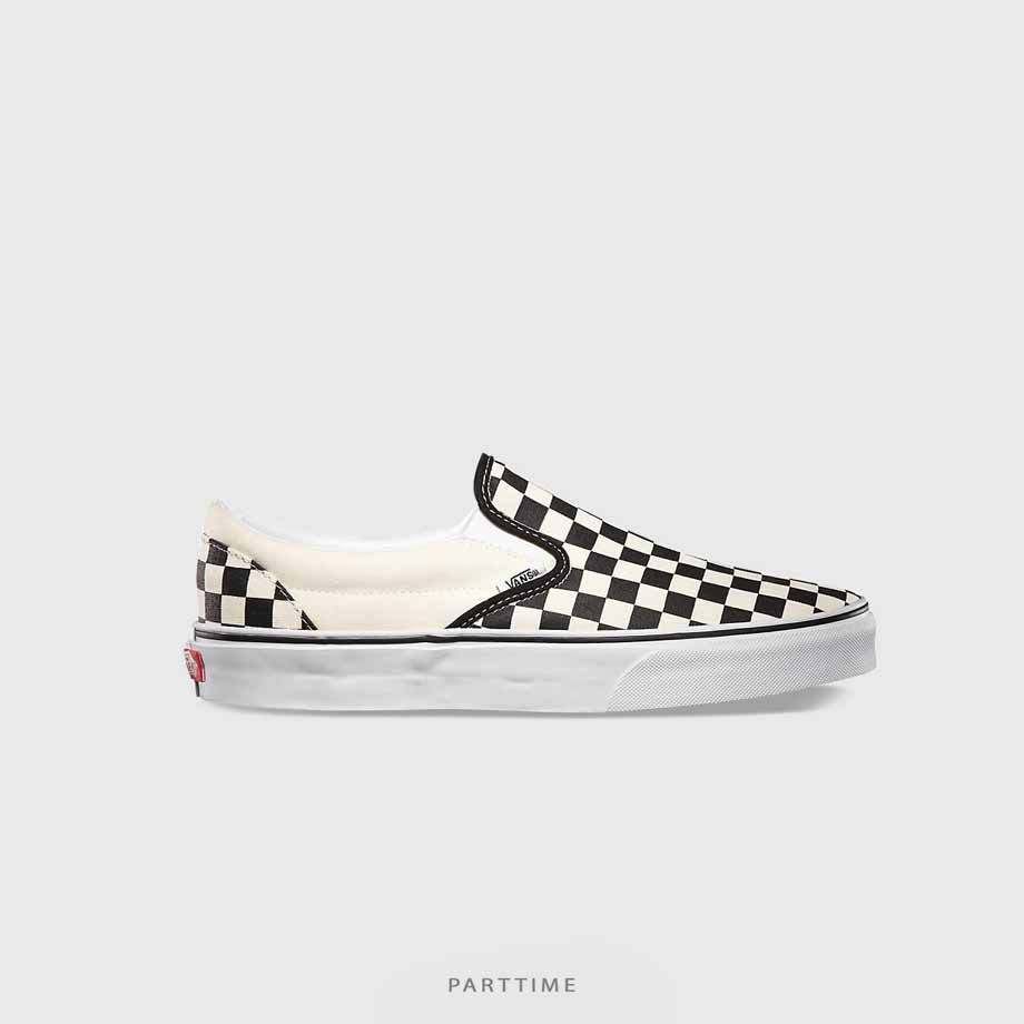 Checkerboard Slipon - Cream