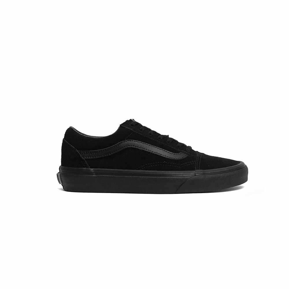 Old Skool - Suede - All Black