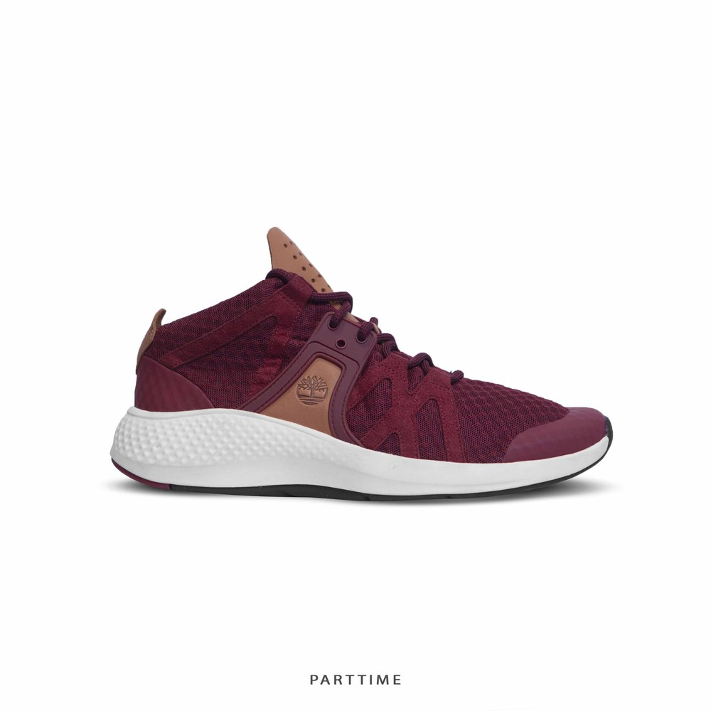 Flyroam - Go Chukka - Burgundy