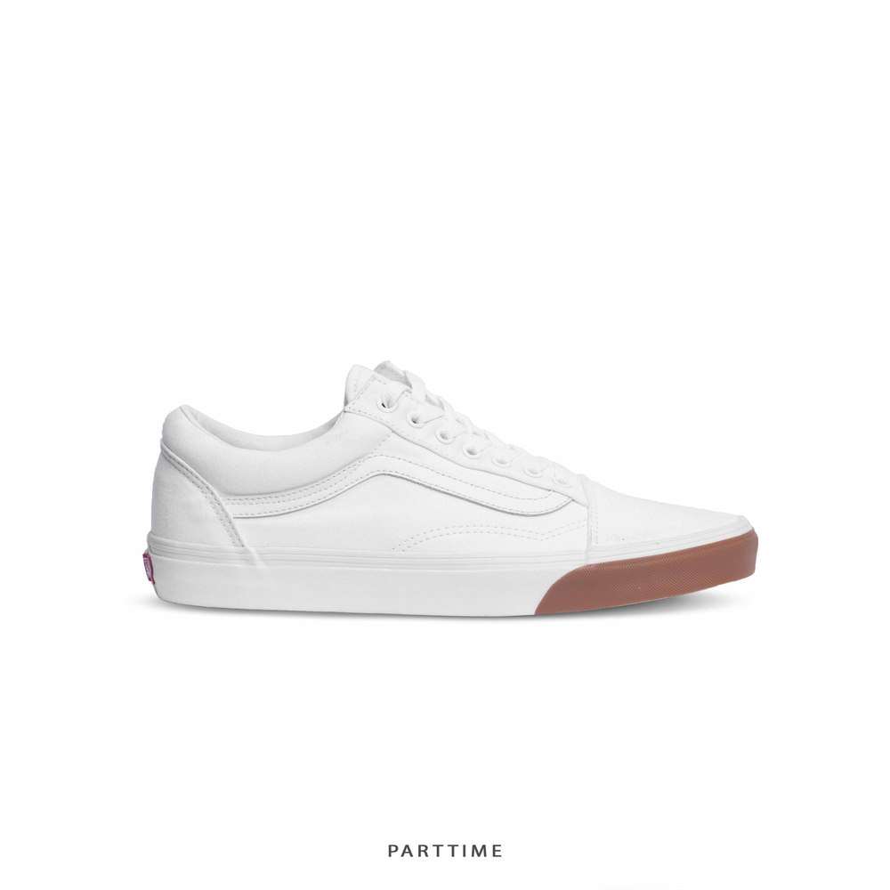 Old Skool - White/Gum