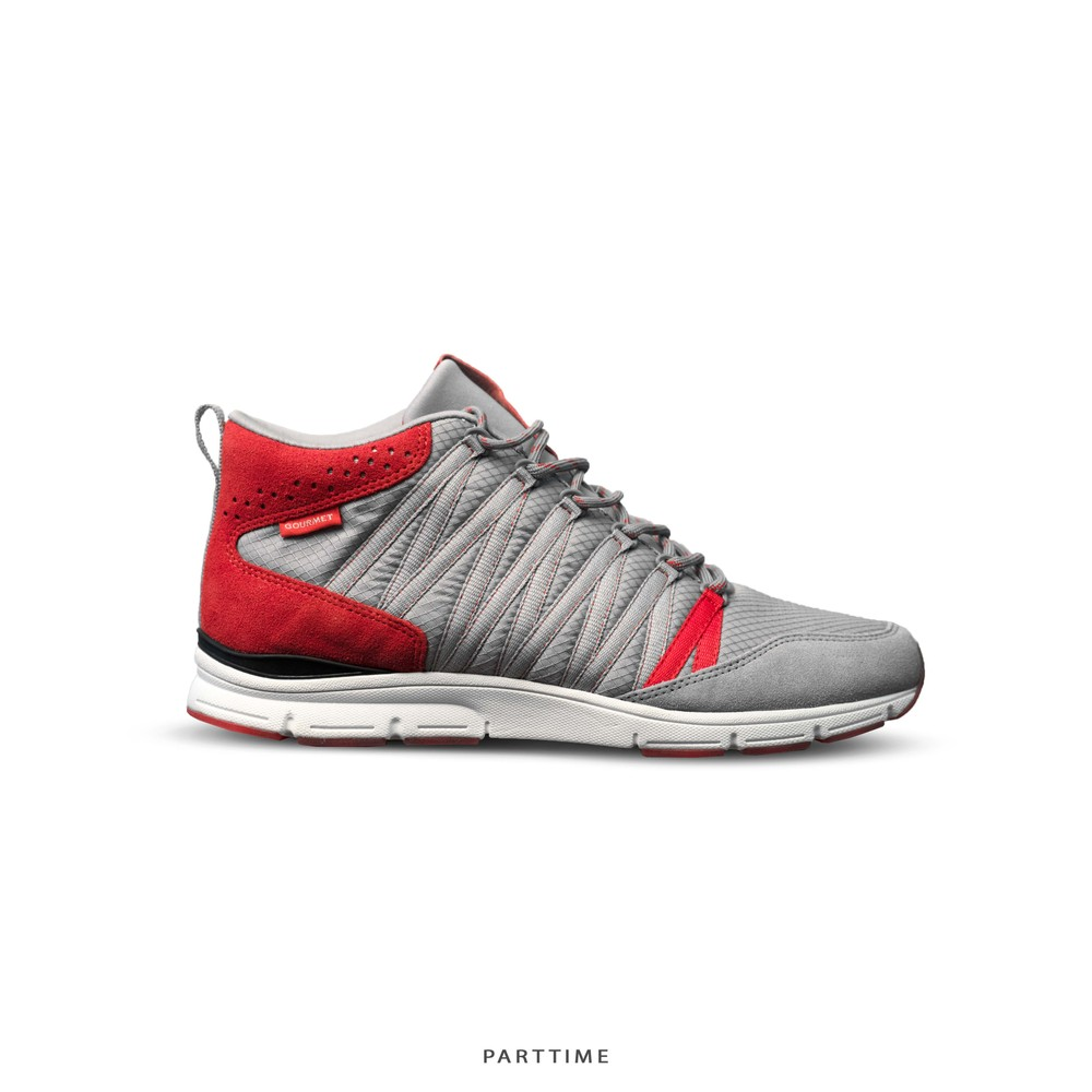 Corridore - Grey/Red