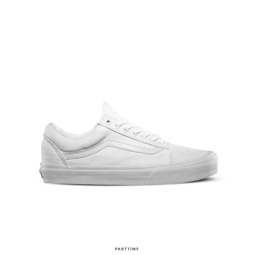 Old Skool - All White