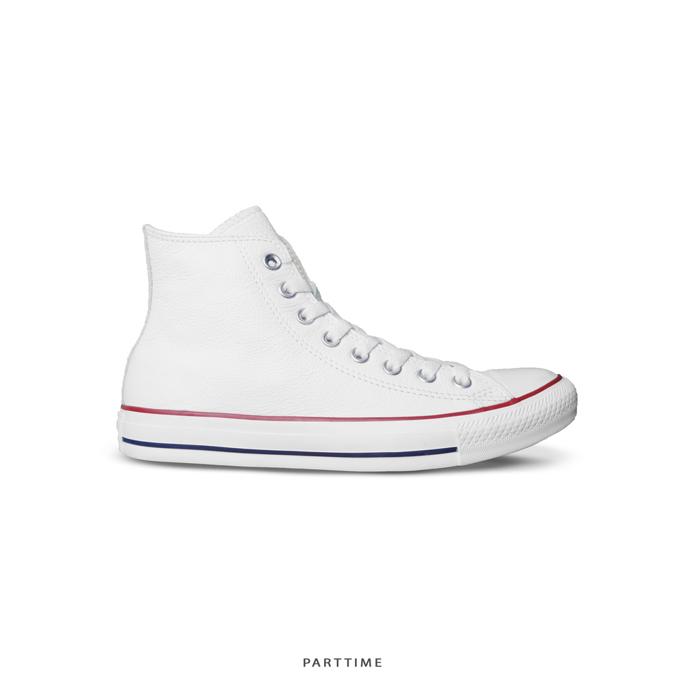 Classic - High - Leather White