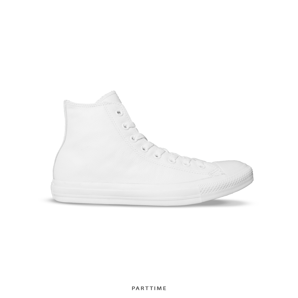 Classic - High - Leather All White