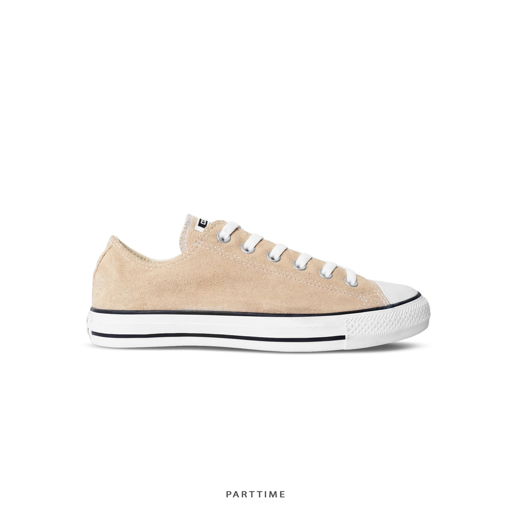 Classic - Low - Tan Suede