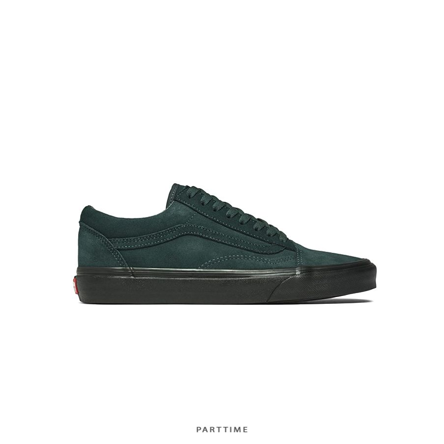 Old Skool - Suede - Dark Green