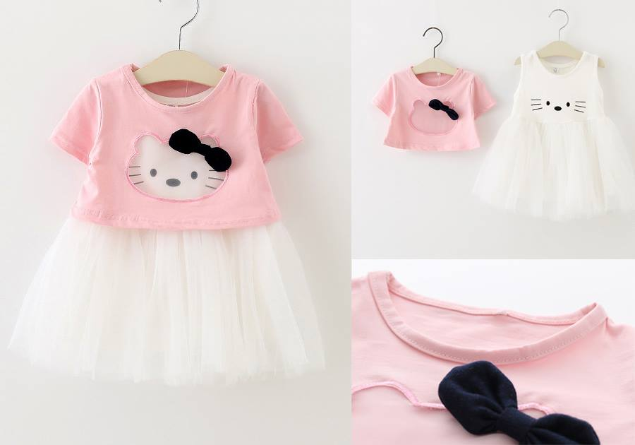 Set kitty croptop