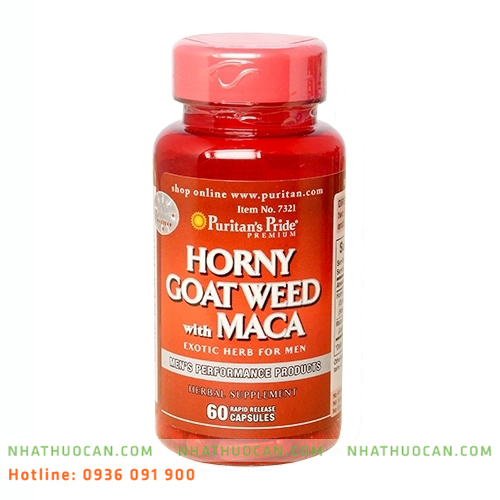 Hormy Goat Weed with Maca cải thiện sinh lý nam
