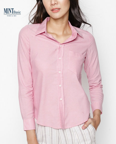 Cotton Shirt ( PINK )