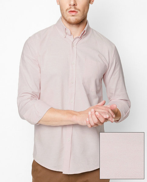 Cotton Oxford shirt (PI)