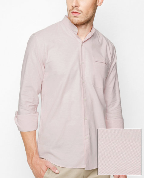Mao Collar Shirt (PK)