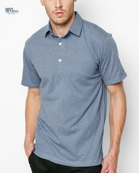 INTERLOCK POLO ( BL )