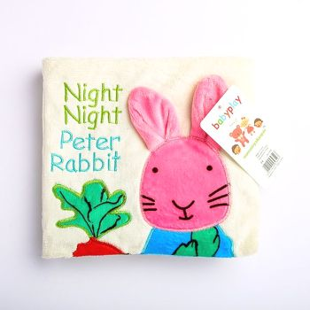 Sách vải night night Peter rabit