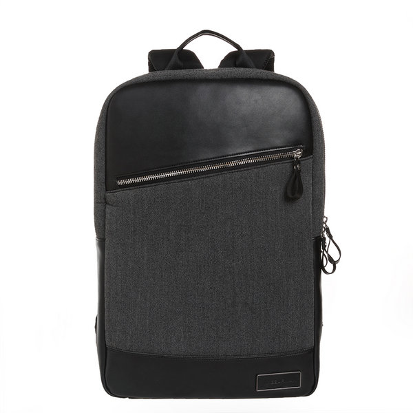 Balo Gearmax Leather backpack (Grey) - GM2769