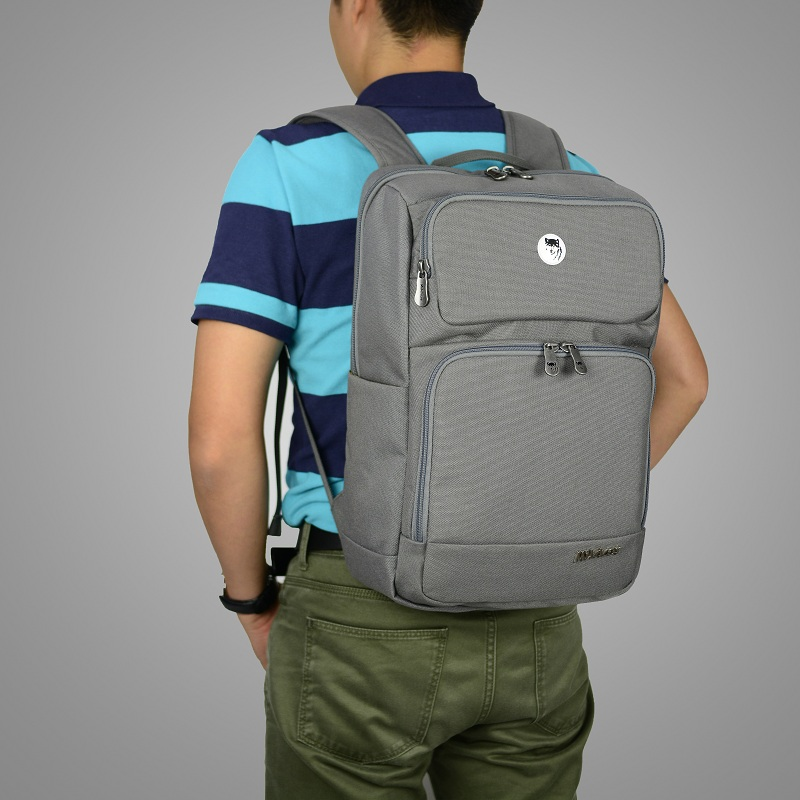 Balo Mikkor The Ives Backpack DK. Mouse Grey