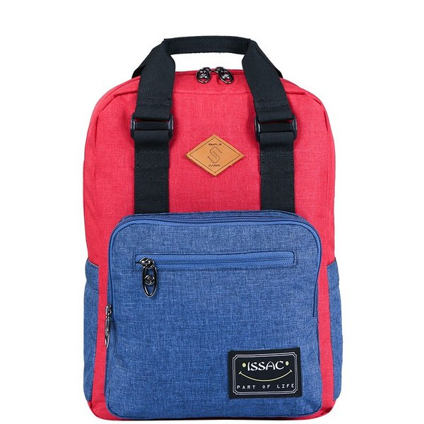 Balo Simplecarry ISSAC 4 D.Red/L.Navy