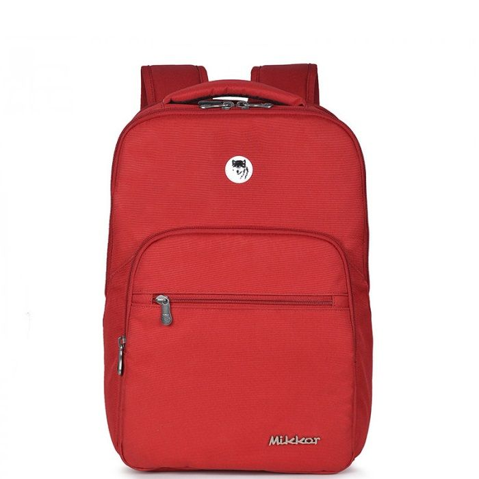 Balo Mikkor The Maddox Backpack Red