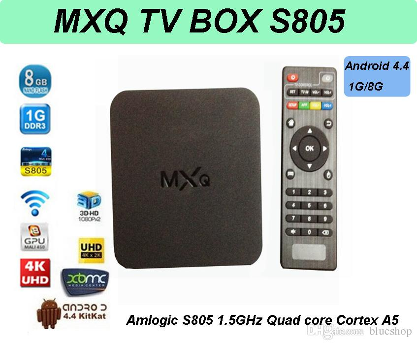 BOX SMART TIVI MXQ 805S Ram 1GB