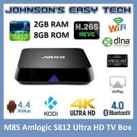 BOX SMART TIVI M8S S812 Ram 2GB