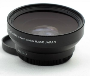Wide Adapter Lens 0.45X