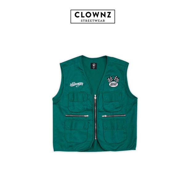 Race vest Racks City Green