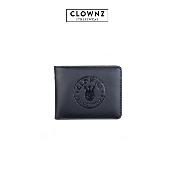 Short Wallet ClownZ Black Pink Green inside