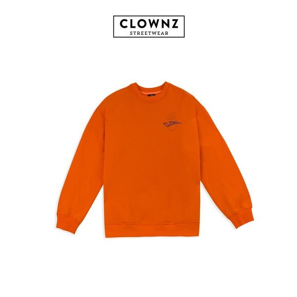 CLOWNZ Signature 2 Sweat Shirt F/W18 - Orange