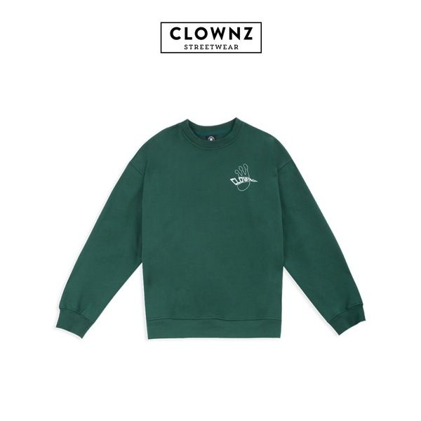 CLOWNZ Signature 2 Sweat Shirt F/W18 - Green