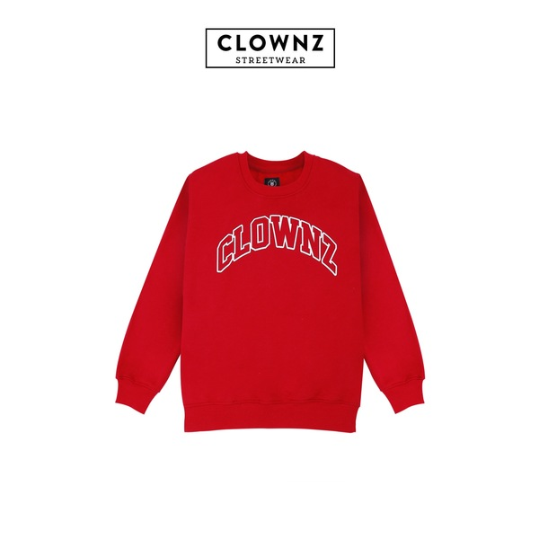 ClownZ Basic Sweatshirt Red