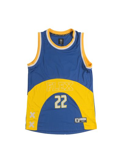 Flex Basketball Jersey Blue V2