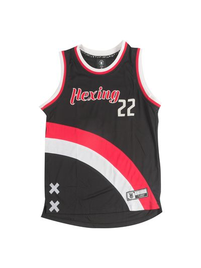 Flexing Basketball Jersey Black