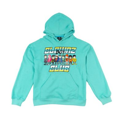 ClownZ Boy Club Hoodie Mint