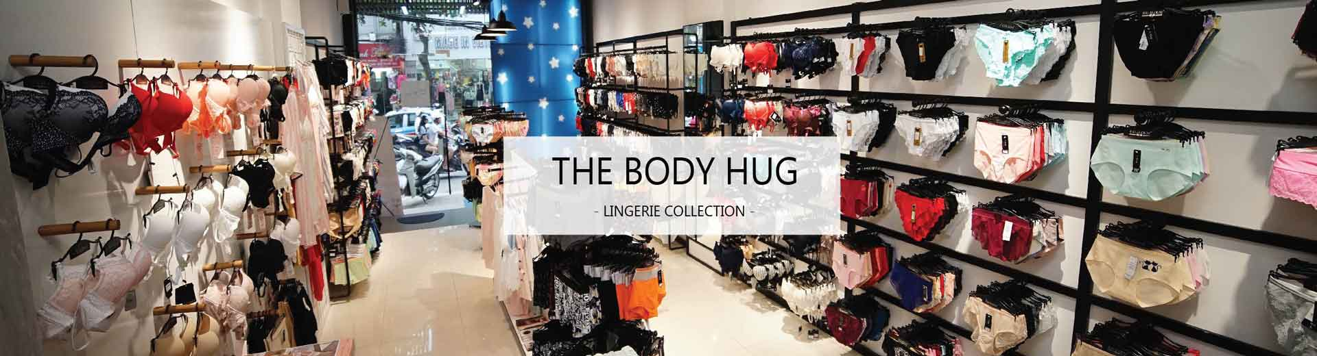 Showroom cửa hàng The Body Hug