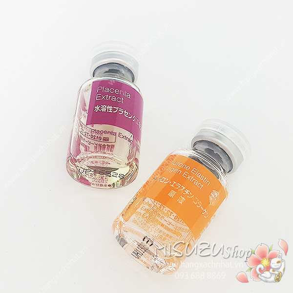 Serum tươi Nhau thai Placenta & Hyalurone Elastin Collagen của BB Laboratories 5ml