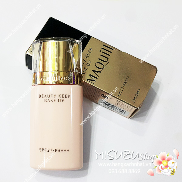 Kem lót Maquillage shiseido Beauty Keep Base UV SPF27 30ml