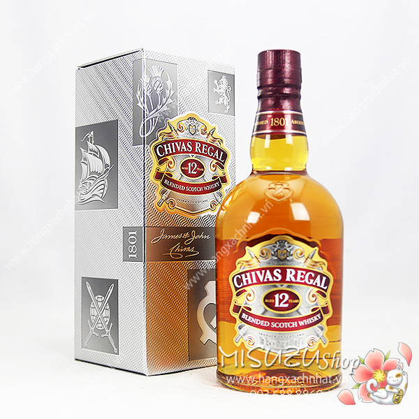 Rượu CHIVAS 12 YEARS 40% 750ml