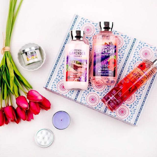Bộ sản phẩm Bath & Body Works French Lavender Honey
