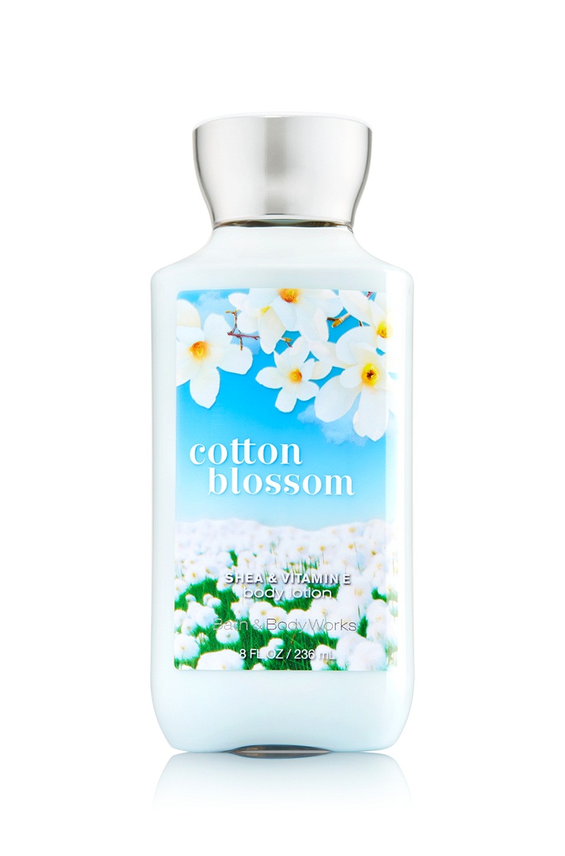 Dưỡng thể Body Lotion Bath And Body Works Cotton Blossom 295ml