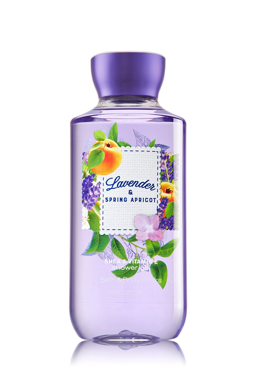 Sữa tắm dạng gel Bath & Body Works Lavender & Spring Apricot 295ml