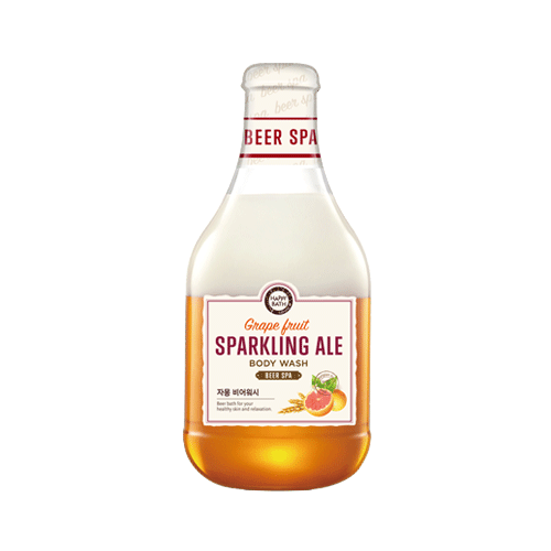 Sữa tắm Beer Spa Grape Fruit Sparkling Ale 300ml (chiết xuất bia và cam)