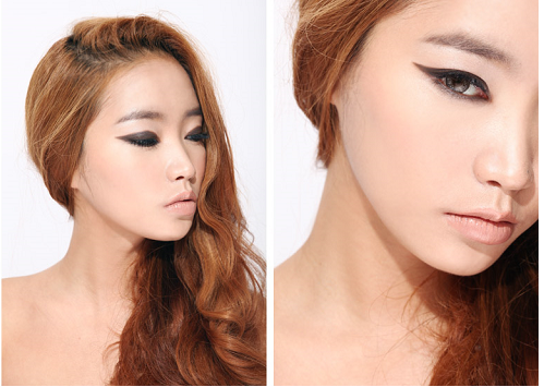 3 CONCEPT EYES GEL EYE LINER #BROWN