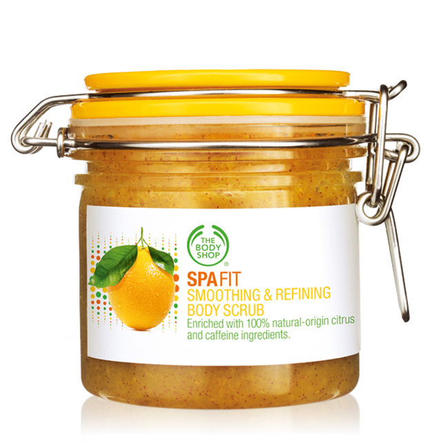 Tẩy da chết Spafit Smoothing and Refining Body Scrub 200ml