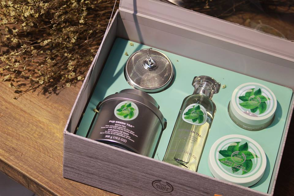 Set Fuji Green Tea - The Body Shop