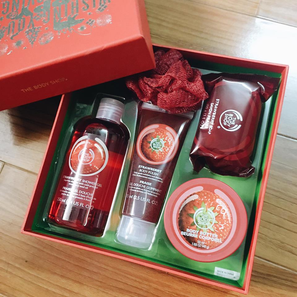 Set Strawberry - The Body Shop