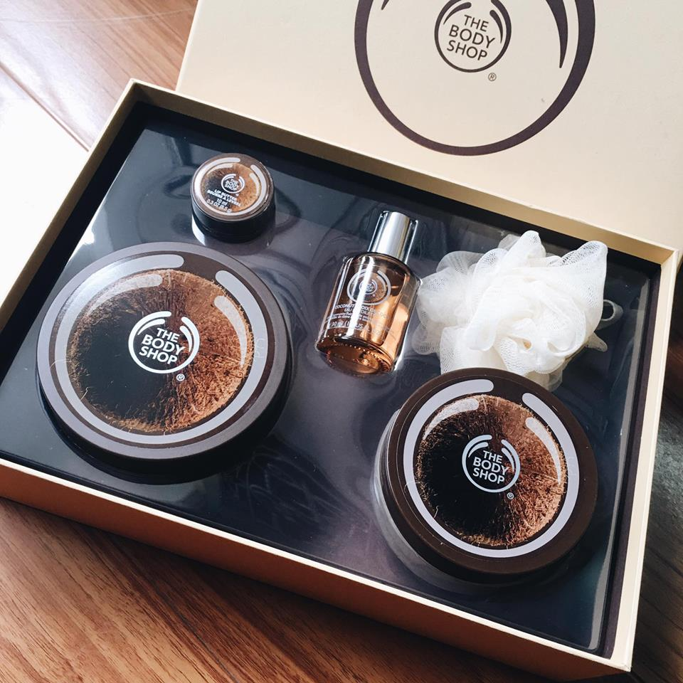 Set Coconut - The Body Shop